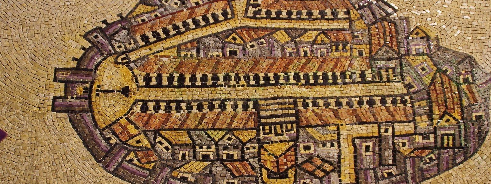 Jerusalem mosaic